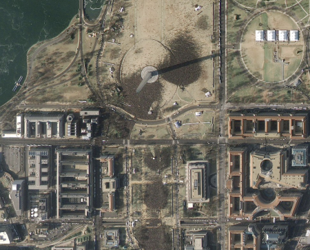 Inauguration Satellite Pics