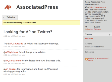 Associated Press on Twitter