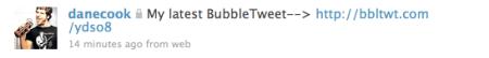 Bubble Tweet