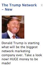 Donald Trump Network Marketer