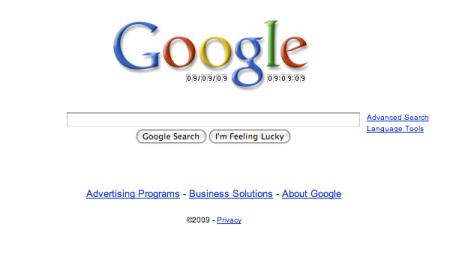 Google 09-09-09