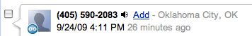 Google Voice Number Recognition