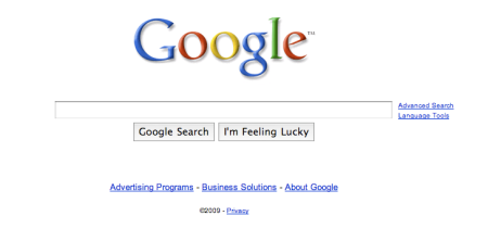 Supersized Google Search Box