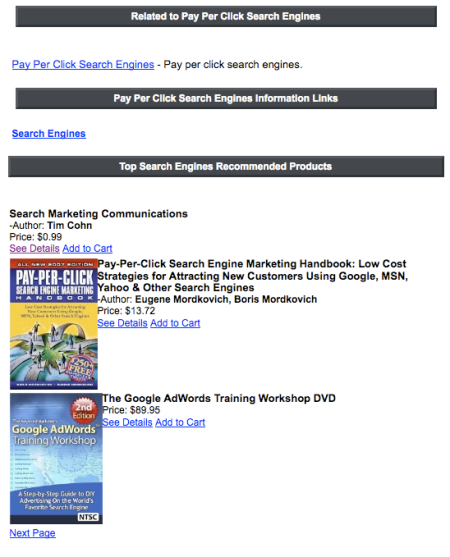 Top Search Engines Recommended Products