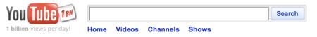 YouTube 1 Billion Views A Day