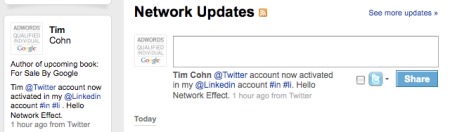 Linkedin Network Updates