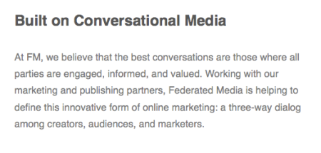 Conversational Media