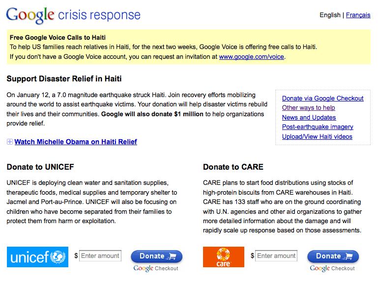 Google Crisis Response Center | @TimCohn | Author Tim Cohn ...