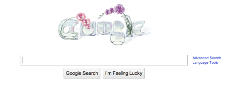 Google Mother's Day Doodle 2010