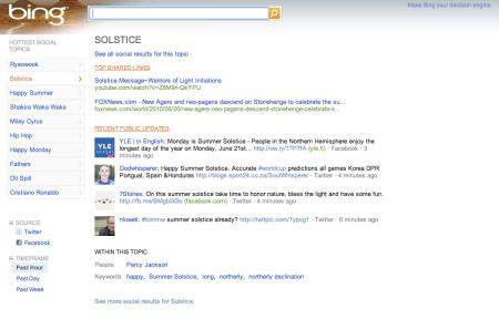 Bing Social Beta