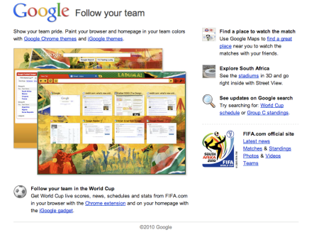 Google Follow Your Team