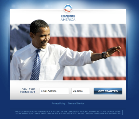 My Barack Obama Organizing America Join The Fight