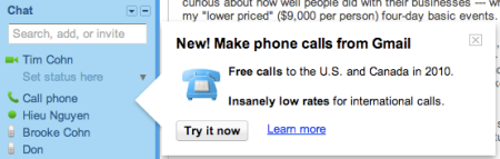 Make Phone Calls From Gmail