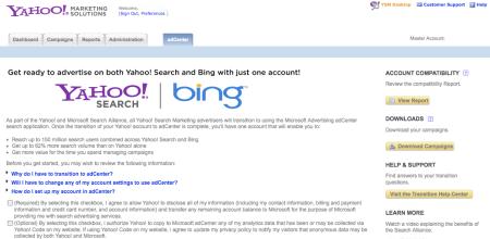 Yahoo Bing Search