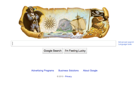 Robert Louis Stevension Google Doodle