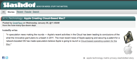 Apple Creating Cloud-Based Mac