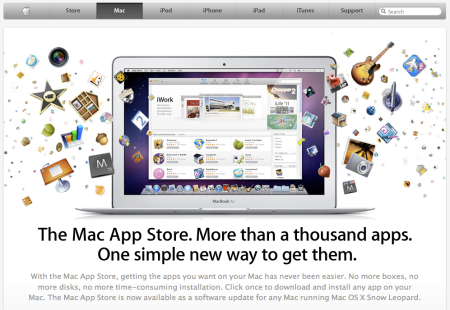 Mac App Store Launch