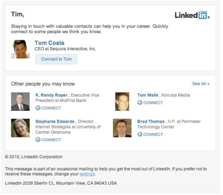 Linkedin Work Graph